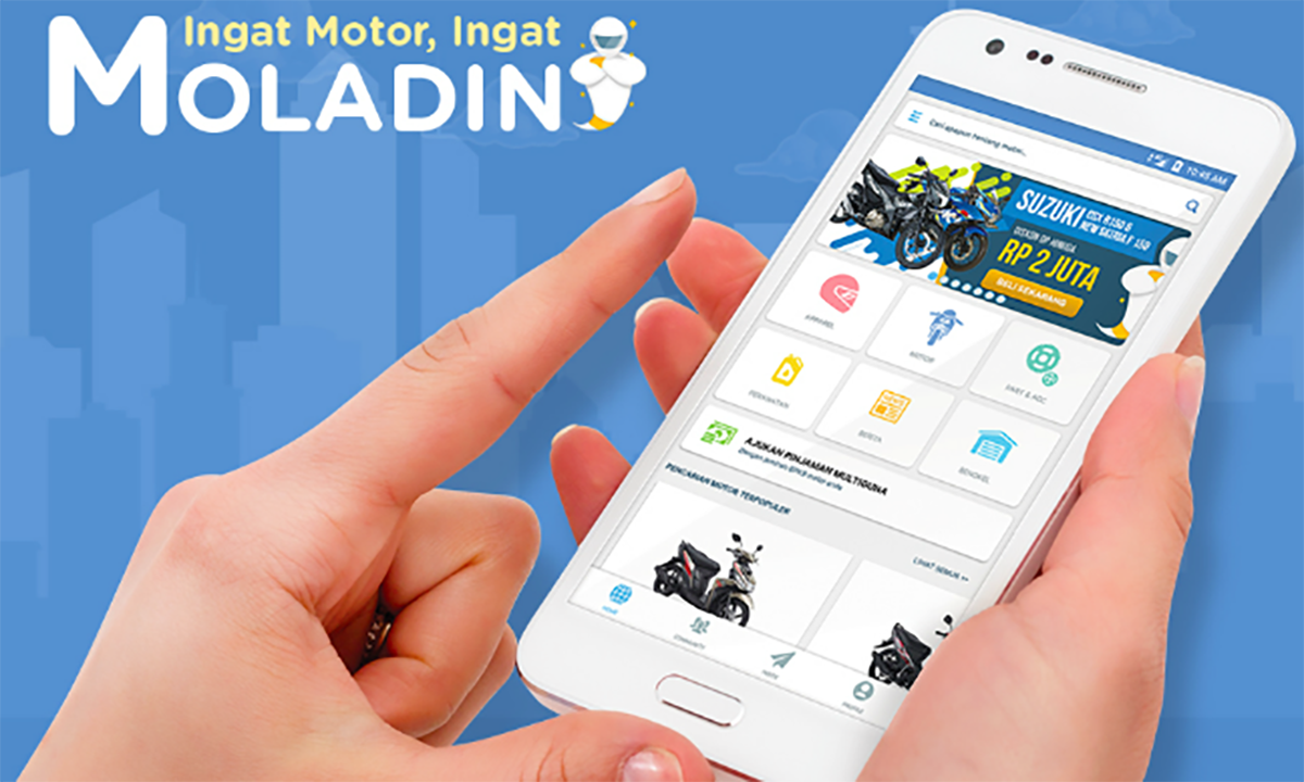 Indonesian Motorcycle e-commerce platform Moladin won 1.2 million U.S. dollar Seed wheel financing, monthly business growth rate of up to 30%